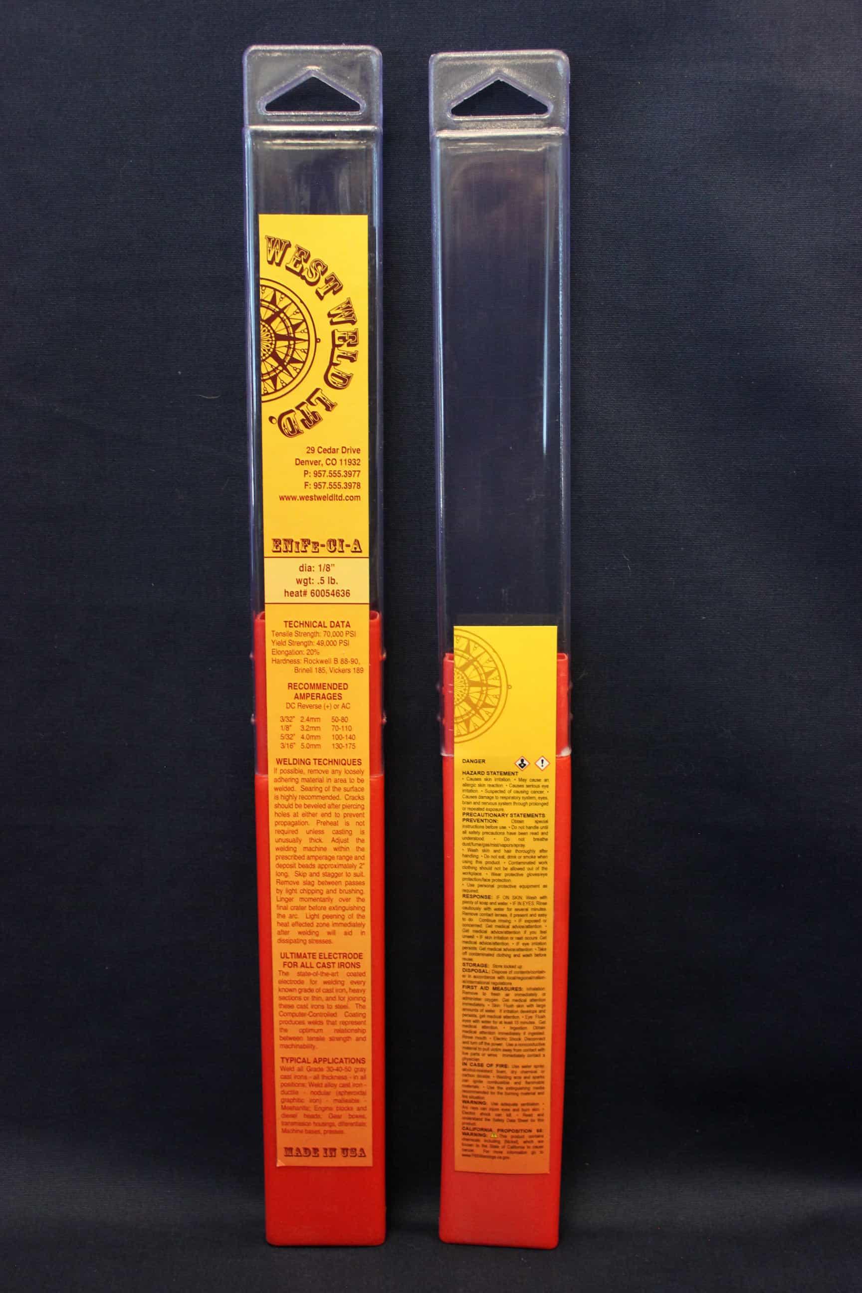 Rod-Pak Labels